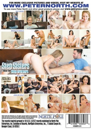 Horny Step Sisters Seduce Their Step Brothers (2015) DVDRip
