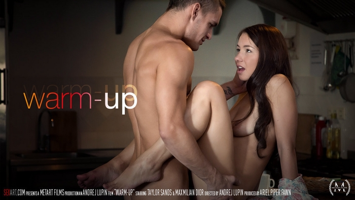 Taylor Sands & Maxmilian Dior - Warm Up (SexArt 1.20.2016)