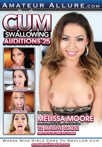 Cum Swallowing Auditions 25 (2016) DVDRip