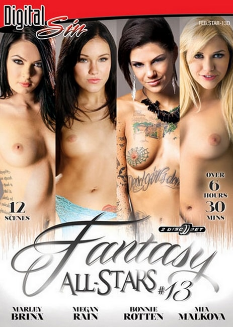 Fantasy All-Stars 13 (2016) 12 Split scenes SD