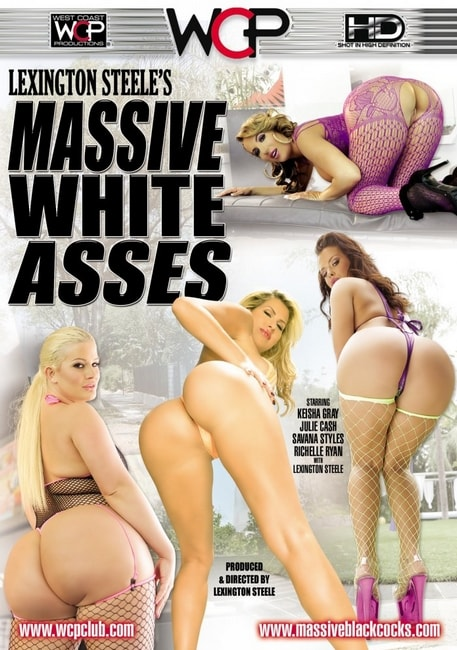 Lexington Steele's Massive White Asses (2016) DVDRip