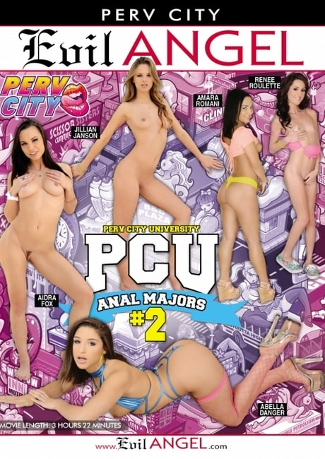 Perv City University Anal Majors 2 (2016) DVDRip