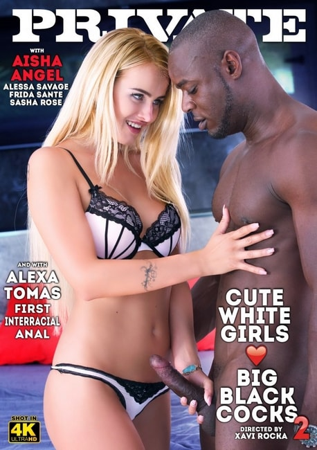 Private Specials 155: Cute White Girls Love Big Black Cocks 2 (2016) DVDRip