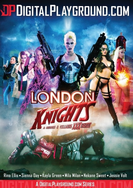 London Knights - A Heroes and Villains XXX Parody (2016) DVDRip