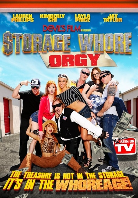 Storage Whore Orgy (2016) DVDRip