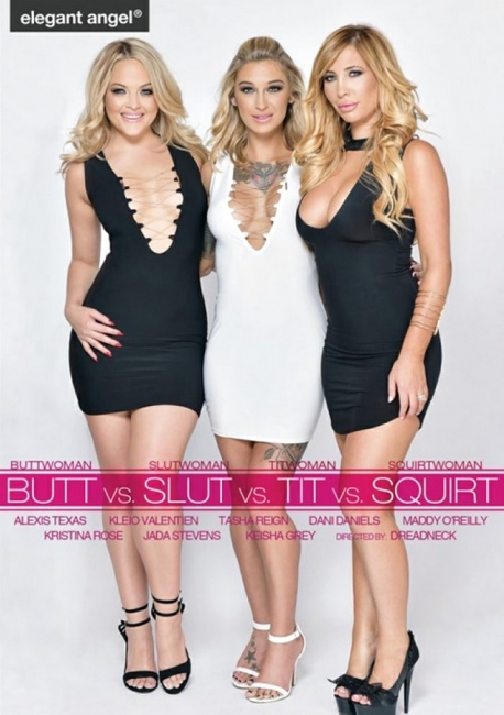 Butt vs. Slut vs. Tit vs. Squirt (2017) DVDRip