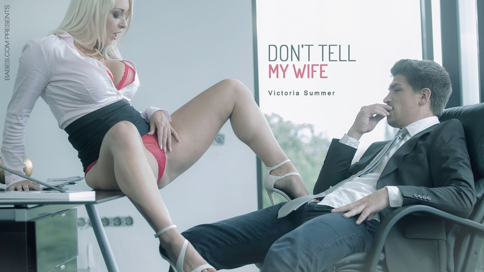 Victoria Summers: Don't Tell My Wife HD 1080p