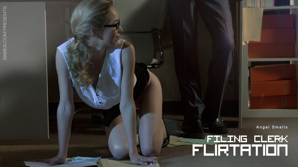 Angel Smalls: Filing Clerk Flirtation HD 1080p