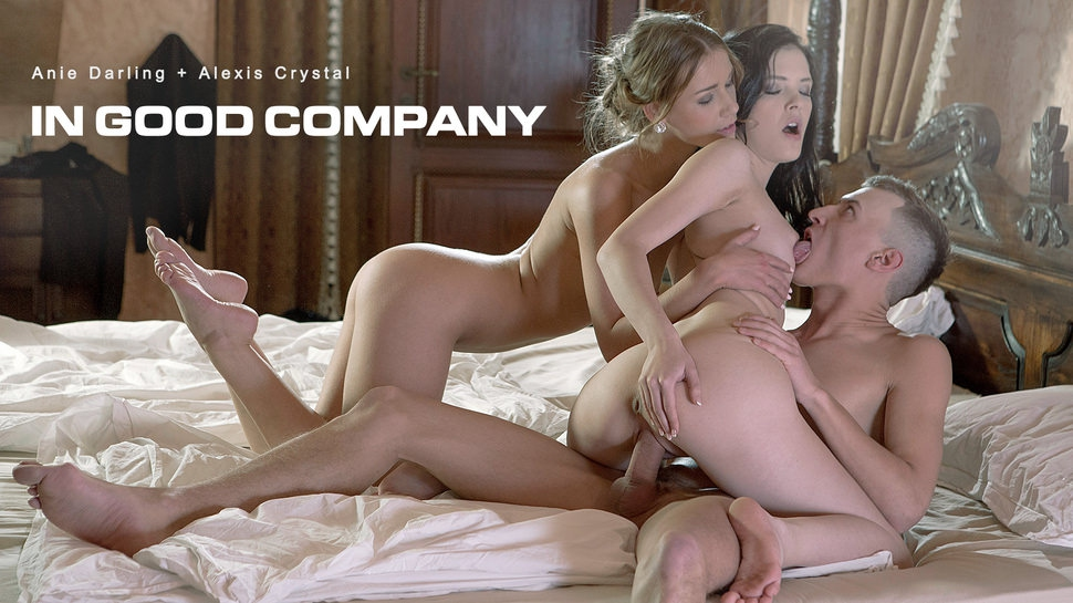 Alexis Crystal, Anie Darling: In Good Company HD 1080p