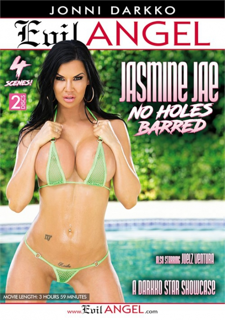 Jasmine Jae: No Holes Barred (2017)  2 Disc DVDRip