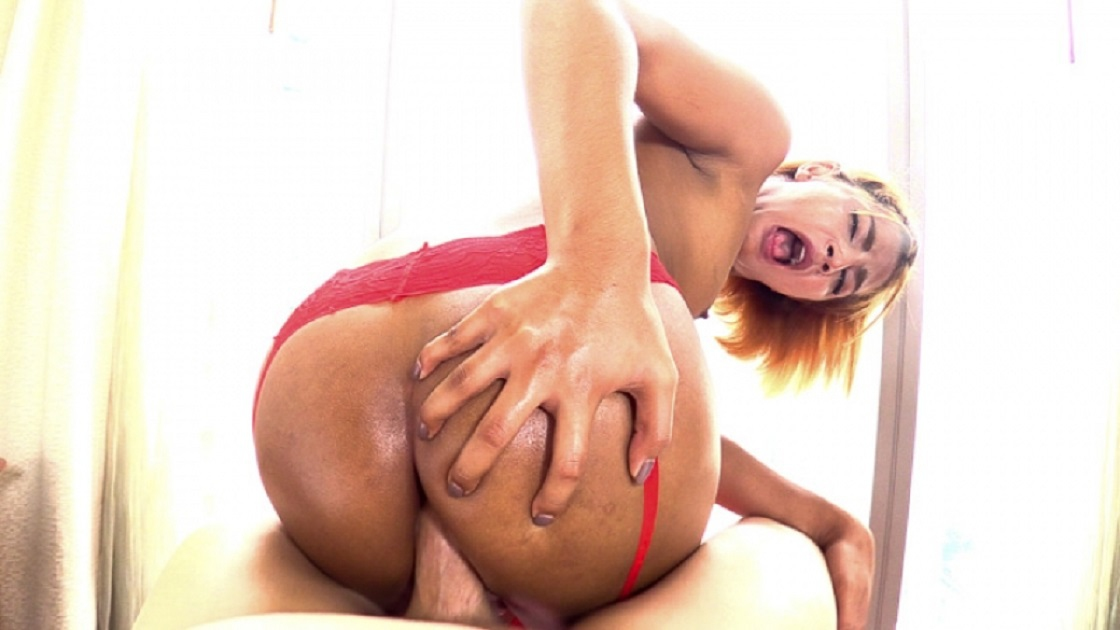 Ning - Lady in Red Bareback HD 720p