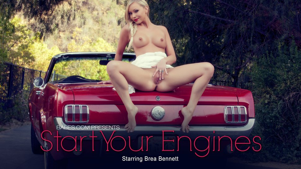 Brea Bennett: Start Your Engines HD 1080p