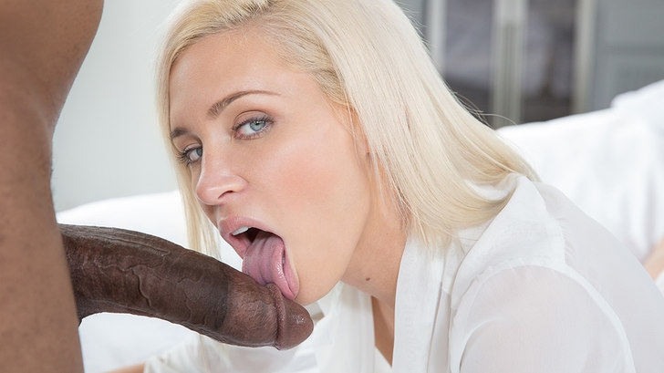 Preppy Blonde Girlfriend Cheats with BBC! HD 1080p