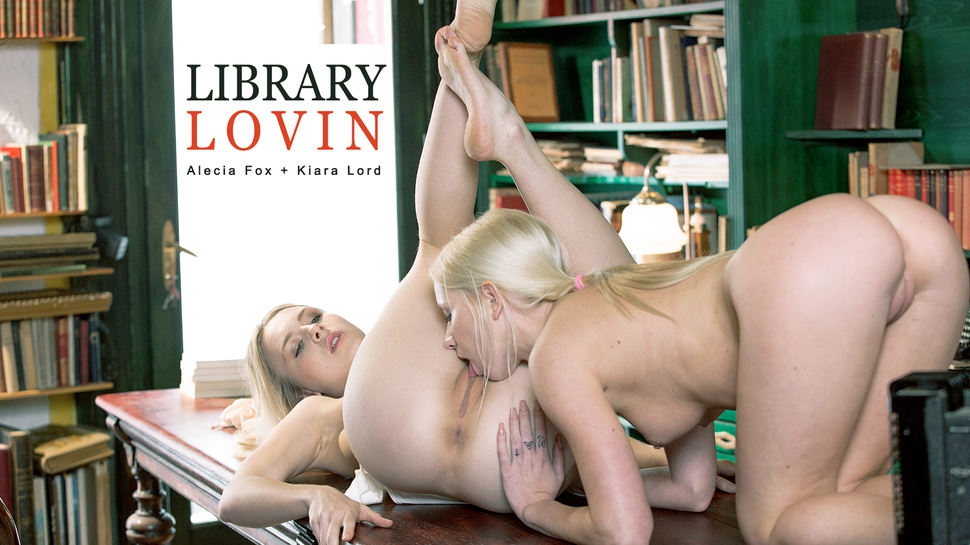 Alecia Fox, Kiara Lord: Library Lovin HD 1080p