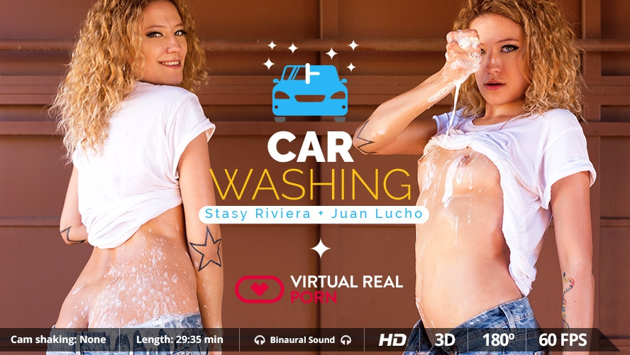 Car Washing - Oculus-GearVR