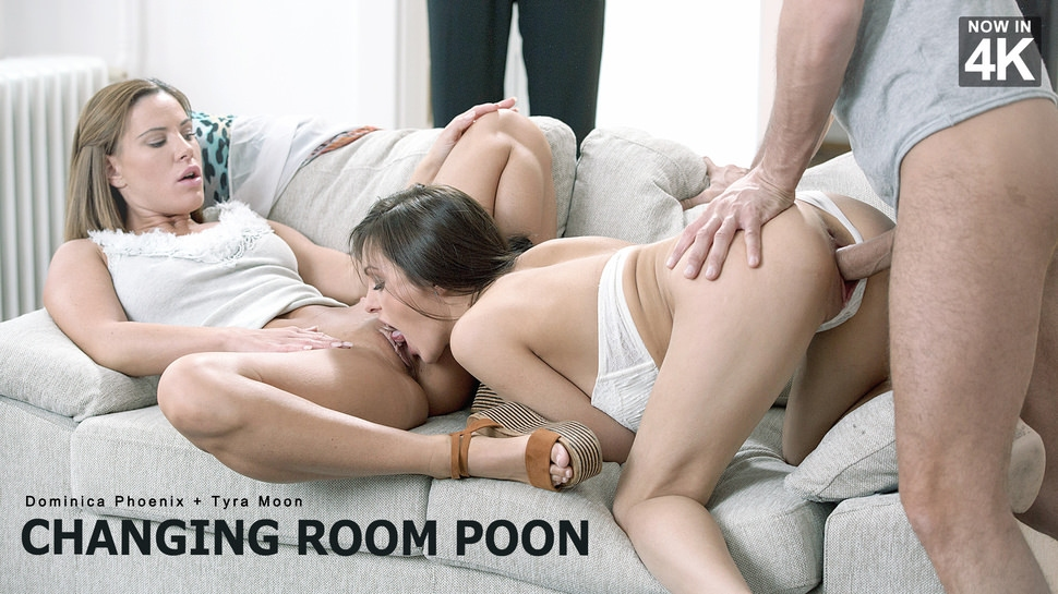 Dominica Phoenix, Tyra Moon: Changing Room Poon HD 1080p