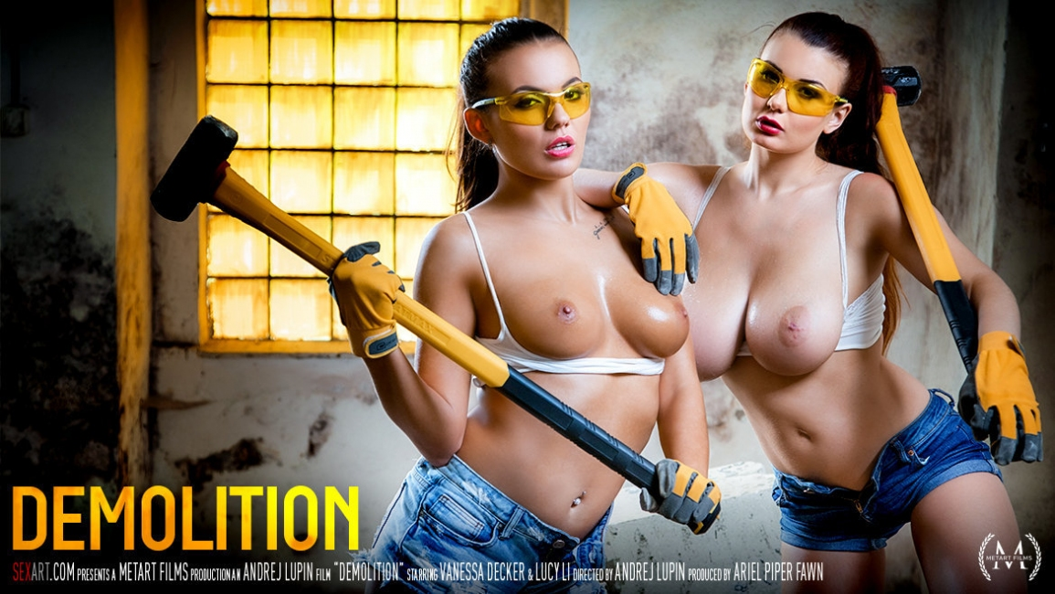Lucy Li, Vanessa Decker: Demolition HD 1080p