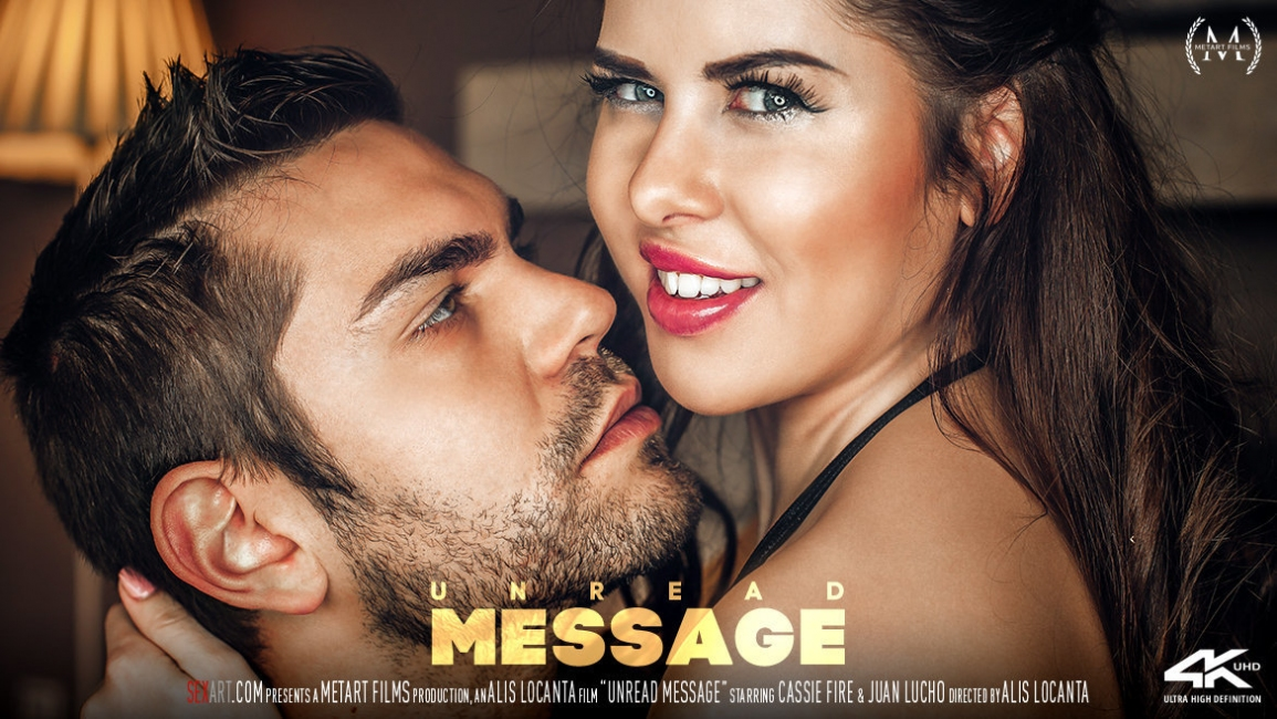 Cassie Fire, Juan Lucho: Unread Message HD 1080p