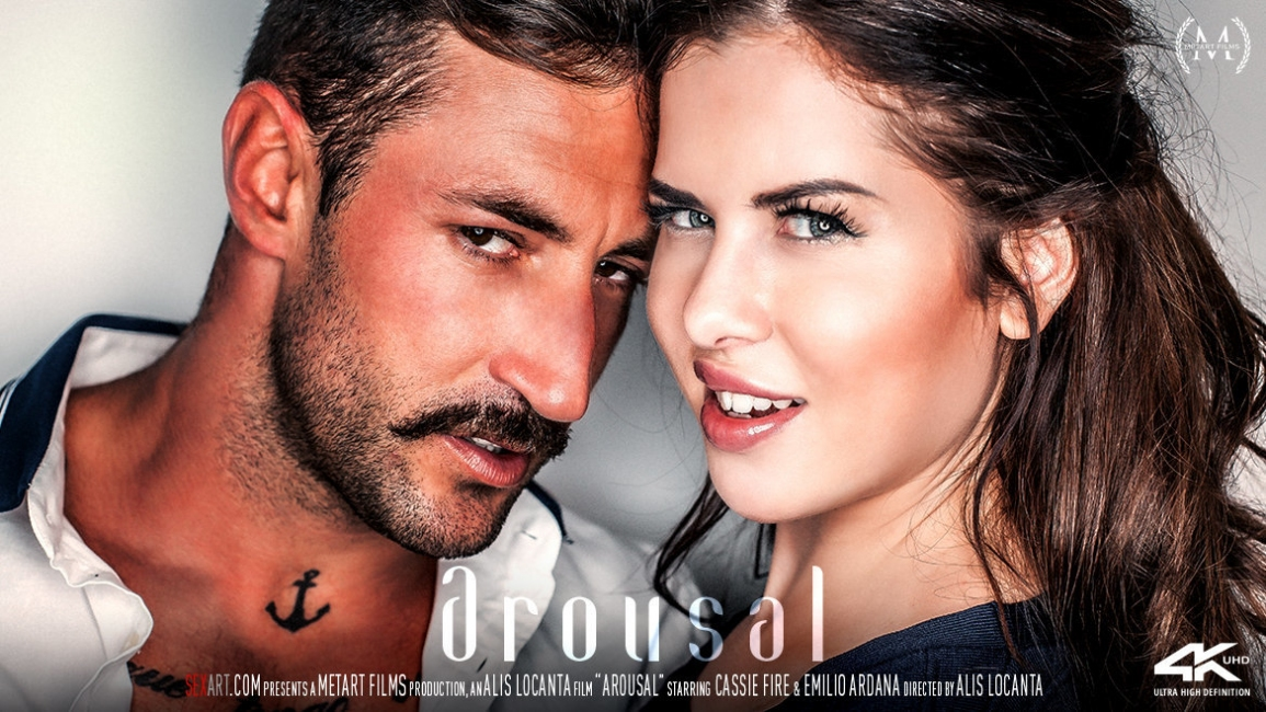 Cassie Fire, Emilio Ardana: Arousal HD 1080p