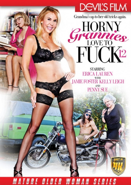 Horny Grannies Love to Fuck 12 (2017) DVDRip