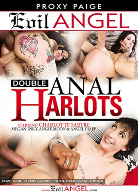 Double Anal Harlots (2018) DVDRip