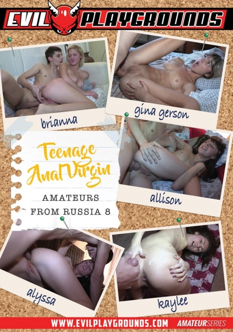 Teenage Anal Virgin Amateurs from Russia 8 (2018) DVDRip